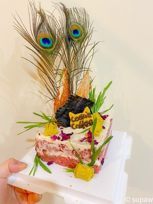 5 inch raw meat cake | Self Pick up or Melb City delivery only