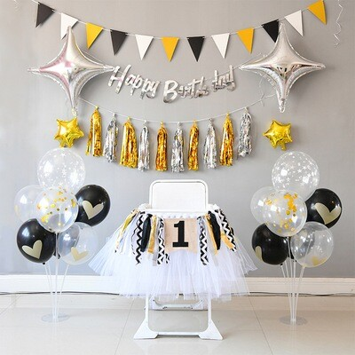 Birthday Party Wall Decoration Set