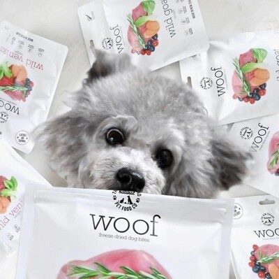 NZ Natural WOOF Freeze Dried Dog Food| No Fillers | Eat like carnivores