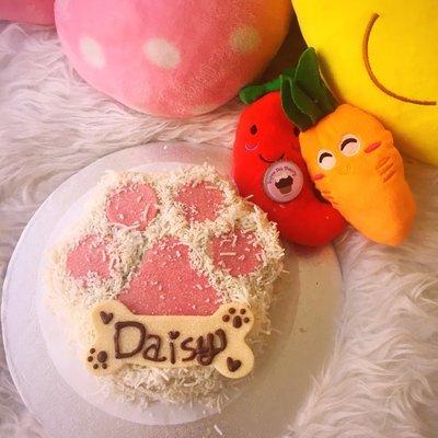 Fuzzy Paw Cake