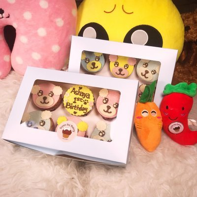 6 Cupcakes Pup Cakes | For Pawty |Bulk Discount