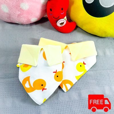 Collar Bandanas | Yellow Duck | Free Shipping