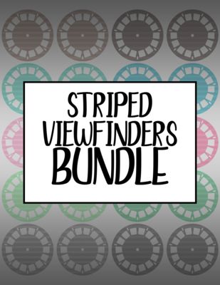 Bundle #33 Striped Viewfinders