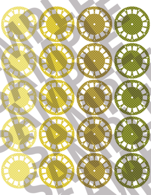 Yellow - Polka Dotted Viewfinders