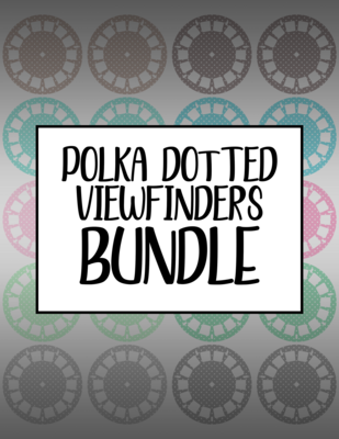 Bundle #34 Polka Dotted Viewfinders