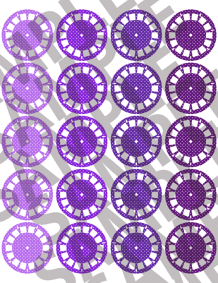 Purple - Polka Dotted Viewfinders