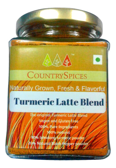 CountrySpices Turmeric Latte Blend - Subscribe & Save