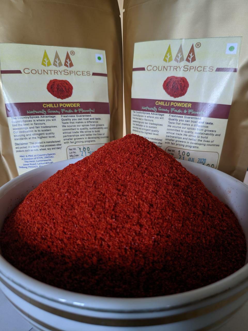 CountrySpices Red Chilli Powder