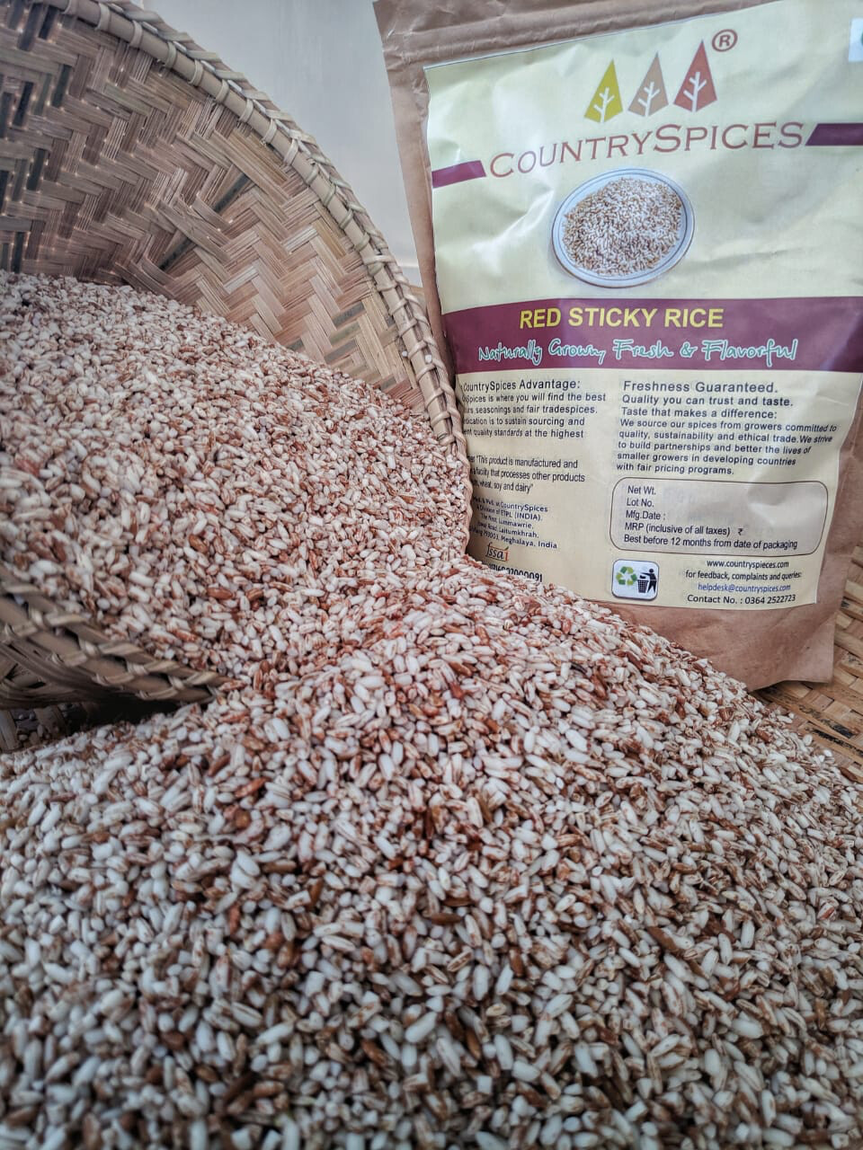 CountrySpices Red Sticky Rice