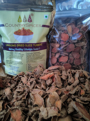 CountrySpices Lakadong Turmeric Slices