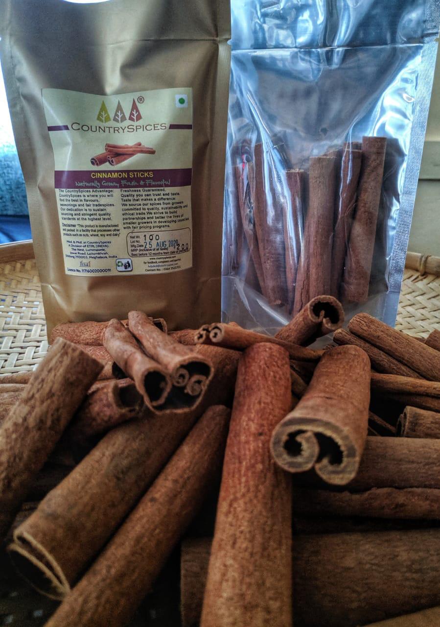 CountrySpices Cinnamon Sticks