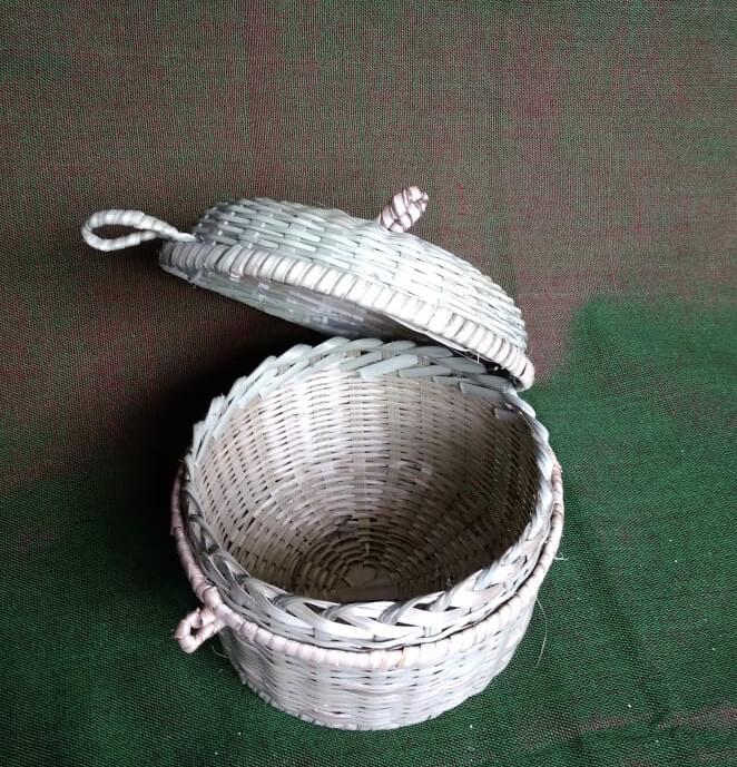 Handmade Bamboo Tiffin