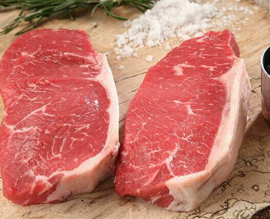 Canadian Striploin Steaks