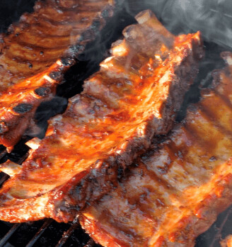 Fully Cooked Pork Back Ribs