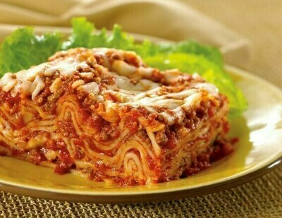 Zarky's Famous Prepared Foods - Three Cheese ITALIAN STYLE Lasagna Bolognese