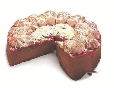 Triple Chocolate Raspberry Truffle Torte