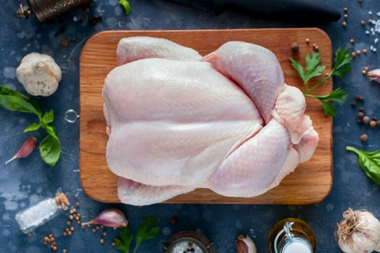 3 FROZEN Whole Chickens