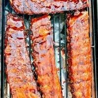 Smoked Heat N' Eat Back Ribs