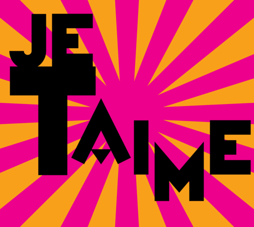 'Je t'aime' Paris postcard