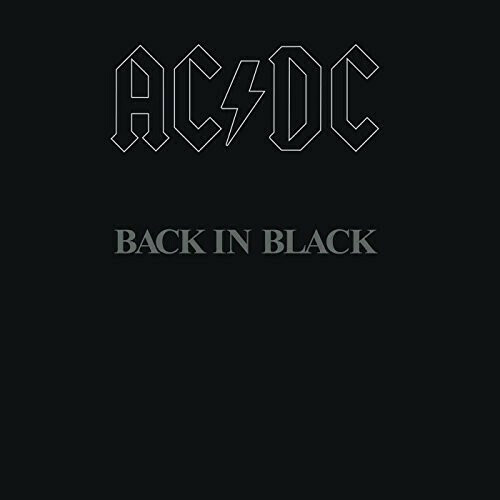 ACDC / Back In Black Reissue