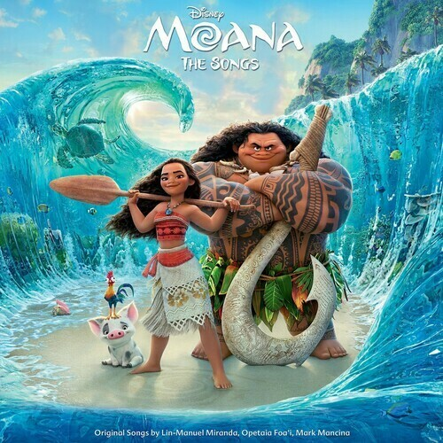 Moana Picture Disc