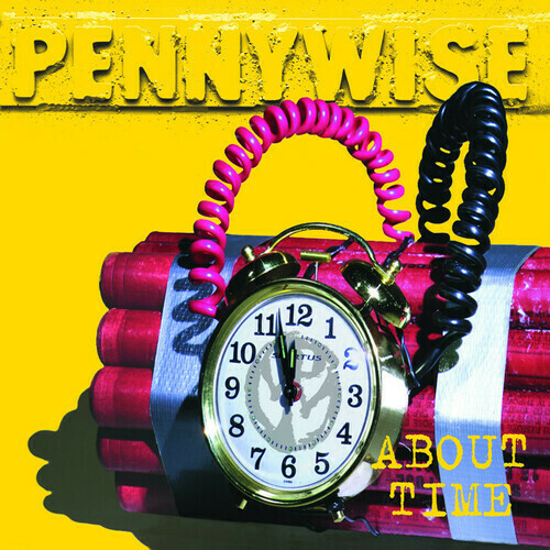 Pennywise / About Time (Silver Vinyl)