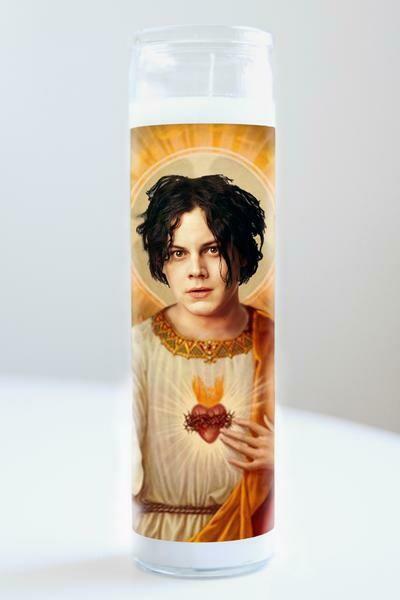 Illuminidol Jack White Candle