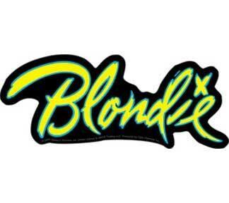 Blondie Logo Sticker