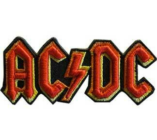 ACDC Logo 3D Patch