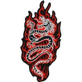 Fiery Dragon Patch