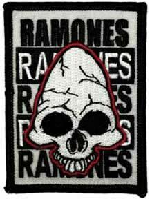 Ramones Skull Patch