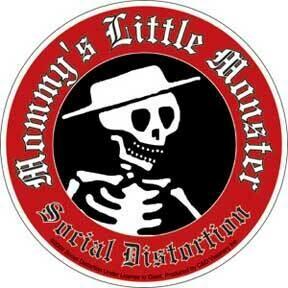 Social Distortion Little Monster Sticker
