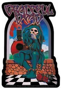 Grateful Dead Jester Sticker