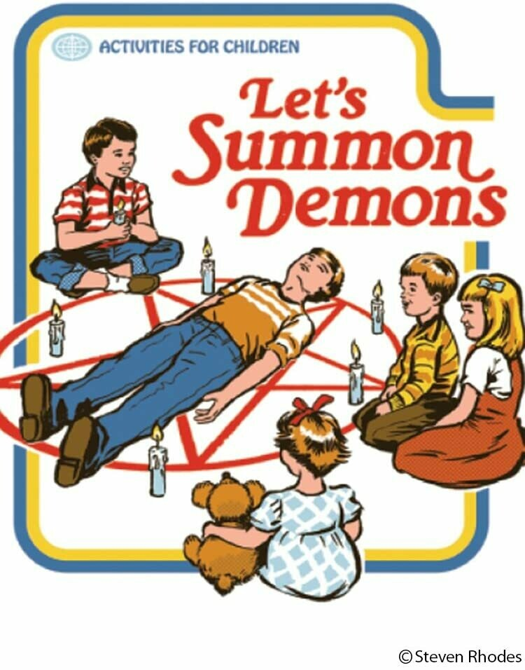 Let's Summon Demons Magnet