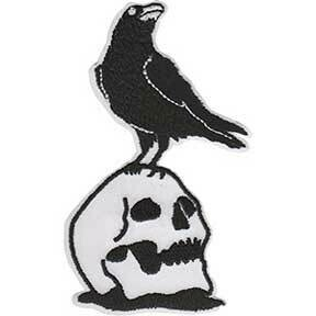Skull Crow Patch