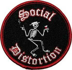 Social Distortion Skelly Patch