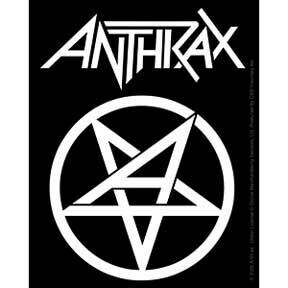 Anthrax Sticker
