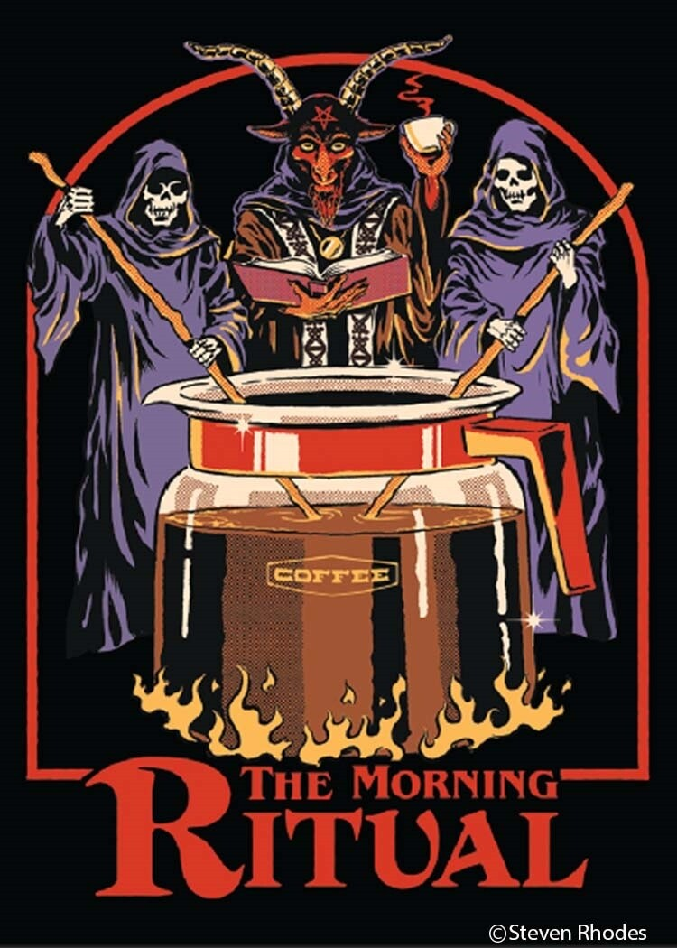 The Morning Ritual Magnet