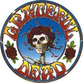 Grateful Dead Spinning Sticker