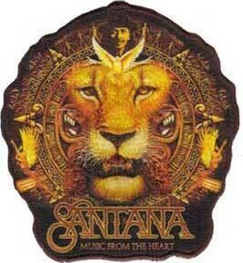 Santana Lion Patch