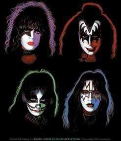 KISS Heads Sticker