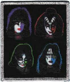 Kiss 4 Heads Patch