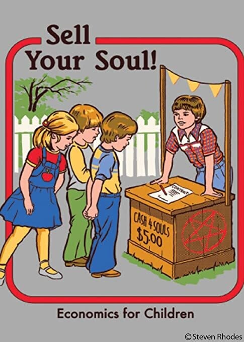 Sell Your Soul! Magnet