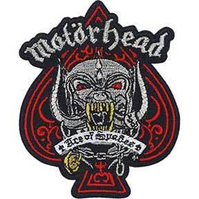 Motorhead Metallic Ace Of Spade Patch