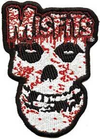 Misfits Bloody Skull Patch