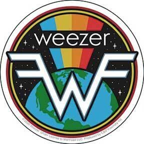 Weezer Sticker