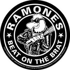 Ramones Beat On The Brat Sticker