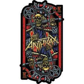 Anthrax Evil Kings Sticker
