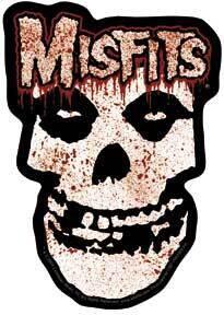 Misfits Bloody Sticker