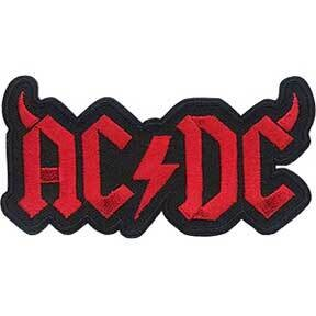 ACDC Logo With Horns Patch
